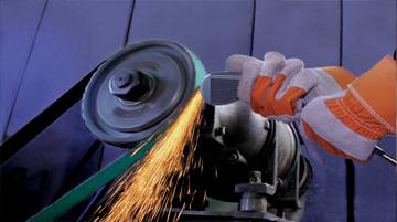 Sungold Abrasives 35166/6/von 122/cm K/örnung 80/SCHLEIFB/ÄNDER Premium Industrie x-weight Aluminiumoxid 3er Pack